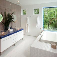 Modern Bathroom by Alan Hoffmann Company