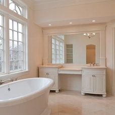 Traditional Bathroom by Grasso Development Corp