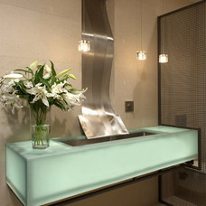 Modern Bathroom by kevin akey - azd architects - michigan