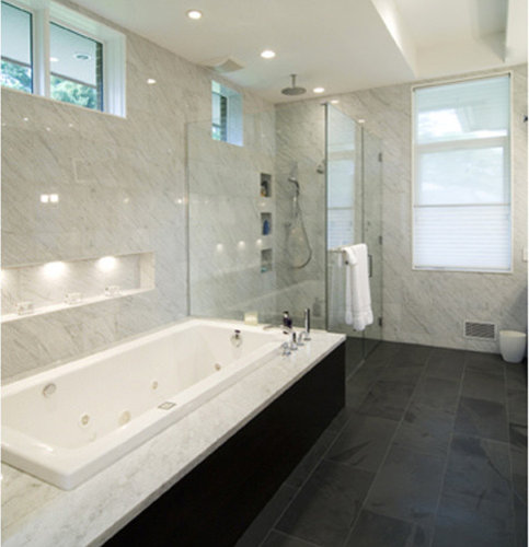 Black Slate Floor Houzz