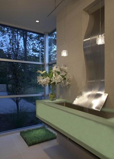 Contemporary Bathroom by kevin akey - azd associates - michigan