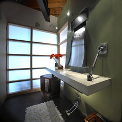 modern bathroom by kevin akey - azd associates