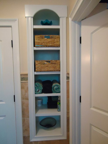 built ins boost storage in small bathrooms
