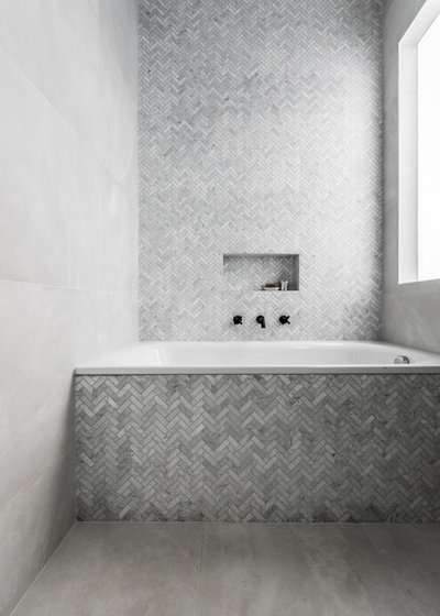 Contemporary Bathroom by eat.bathe.live