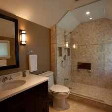 Bathroom by Chuck Mills Residential Design & Development Inc.