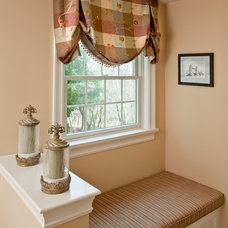 Traditional Bathroom by KH Window Fashions, Inc.