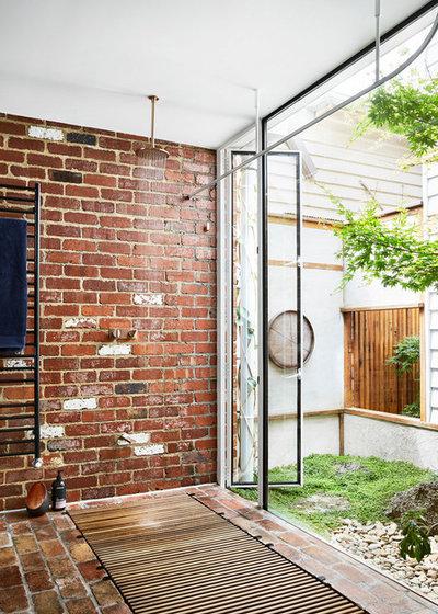 Trendy Badeværelse by Austin Maynard Architects