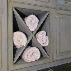 Traditional Bathroom by Jill Frey Kitchen Design
