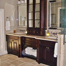 Traditional Bathroom by Lowcountry Tile & Hardwood Contractors