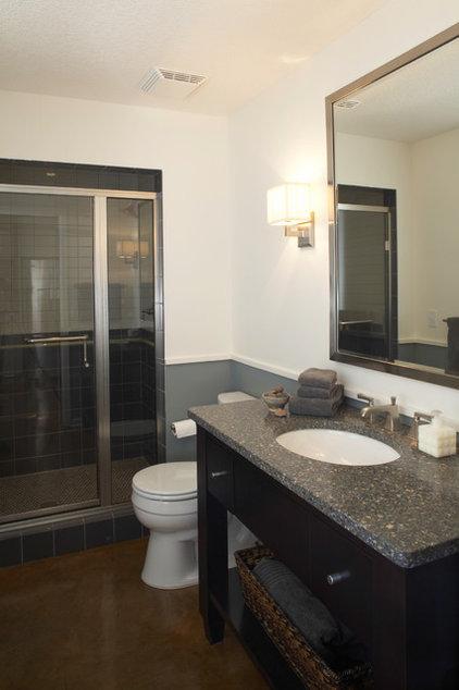 Contemporary Bathroom by TreHus Architects+Interior Designers+Builders