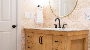 kid- friendly bathroom addition