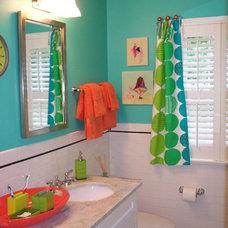 Eclectic Bathroom by Ben Dial