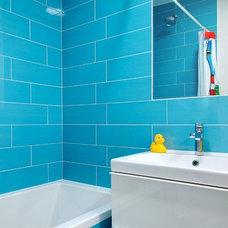 Contemporary Bathroom by Roundabout Studio Inc.