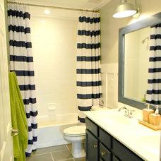 Traditional Bathroom by Seaside Interiors LLC