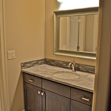 Traditional Bathroom by Anthony Company Builders LLC