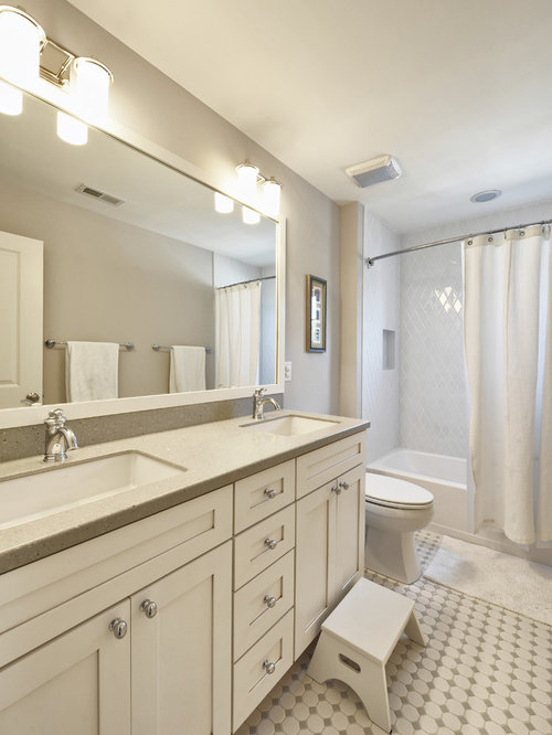 2 Person Shower Bathroom Design Ideas Remodels Photos With Shaker Cabi
