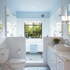Contemporary Bathroom by Maya Design Studio