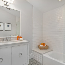 contemporary bathroom by Cardea Building Co.