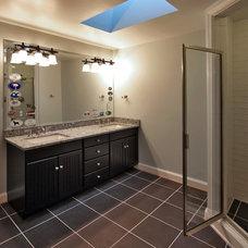 Craftsman Bathroom by Finecraft Contractors, Inc.