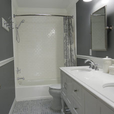Traditional Bathroom by John Webb Construction and Design