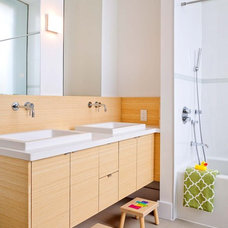 Contemporary Bathroom by Stephani Buchman Photography