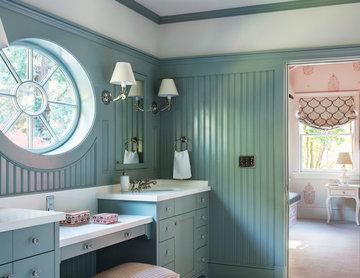Kids' Dressing Room and Bath