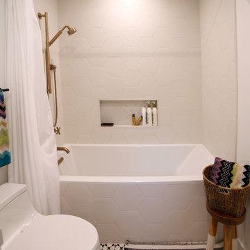 Kids Shower/Tub Combo   Complete Remodel   Sherman Oaks