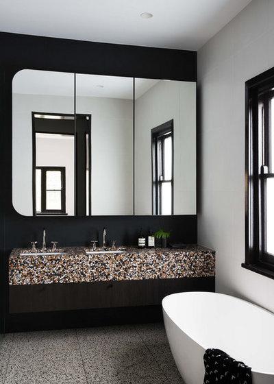 Contemporary Bathroom by Clancy Constructions