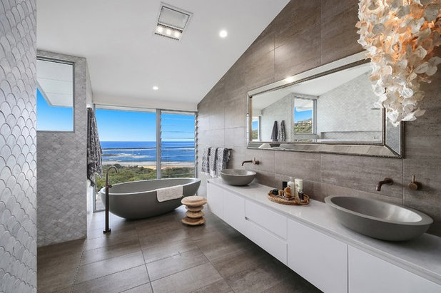 Tropical Bathroom by Chosen Photography