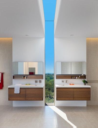 Современный Ванная комната by Tate Studio Architects