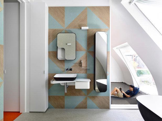 コンテンポラリー 浴室 by Austin Maynard Architects