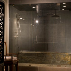 Transitional Bathroom by ZD Interiors