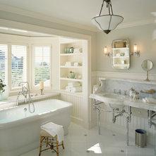 Victorian Bathroom by Hutker Architects