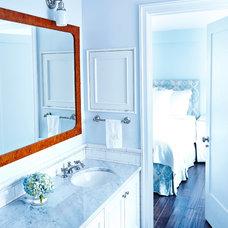 Traditional Bathroom by Rae McConville Interiors LLC