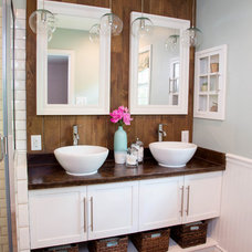 Traditional Bathroom by Kathryn J. LeMaster Art & Design
