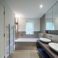 Contemporary Bathroom by COUPDEVILLE
