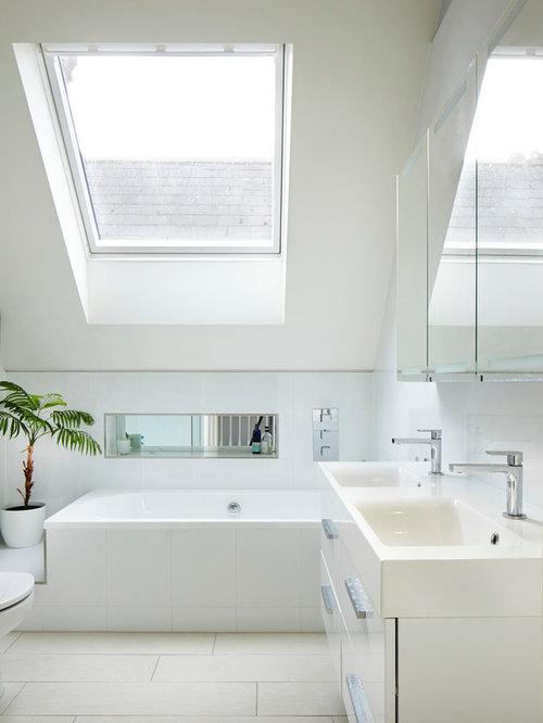 Bathroom Integrated Sink Houzz