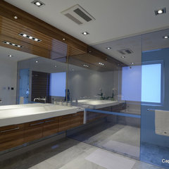 modern bathroom by Capoferro Design Build Group