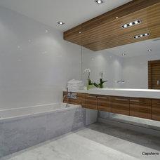 Modern Bathroom by Capoferro Design Build Group
