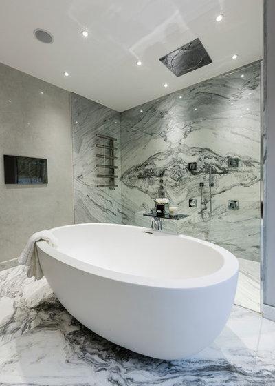 Contemporary Bathroom by Luke Cartledge Photography