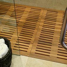 Asian Bathroom by Sun West Custom Homes LLC