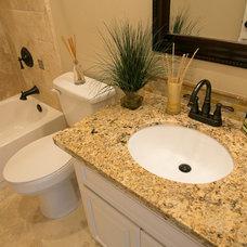 Bathroom by Riverside Builders