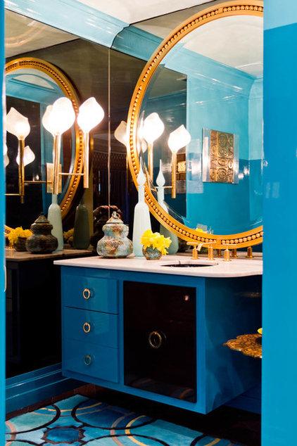 contemporary bathroom by Rikki Snyder