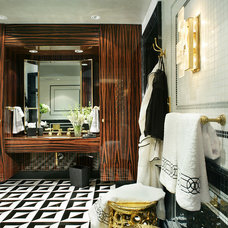 Modern Bathroom by Jamie Herzlinger