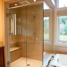 Modern Bathroom by Stark Construction, Inc