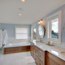 Traditional Bathroom by First Lamp