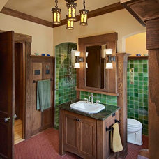 Craftsman Bathroom by Joseph Metzler / SALA Architects