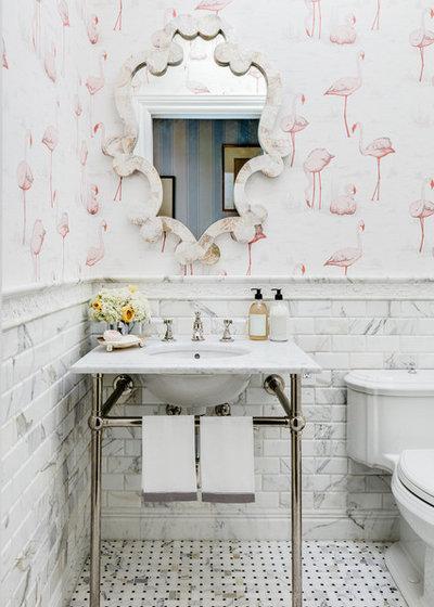 Traditional Bathroom by Dina Bandman Interiors