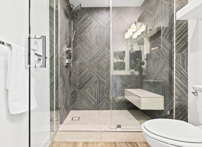 Transitional Bathroom by Spazio LA Tile Gallery