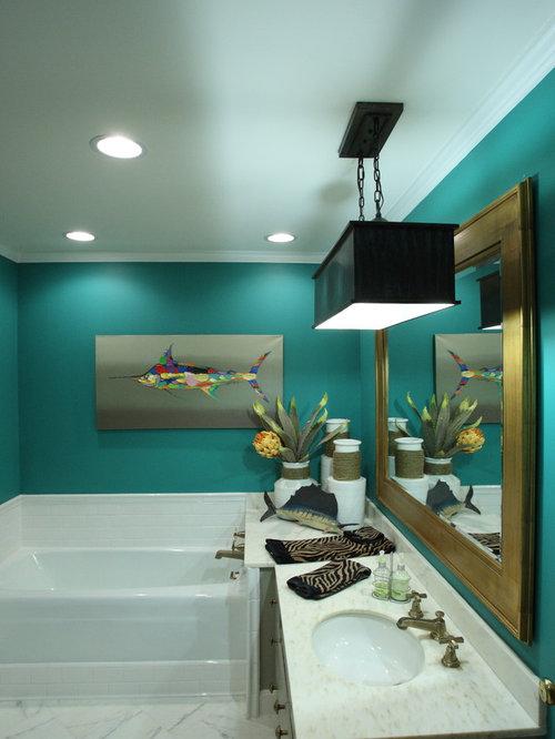 Tropical Nashville Bathroom Design Ideas Remodels Photos